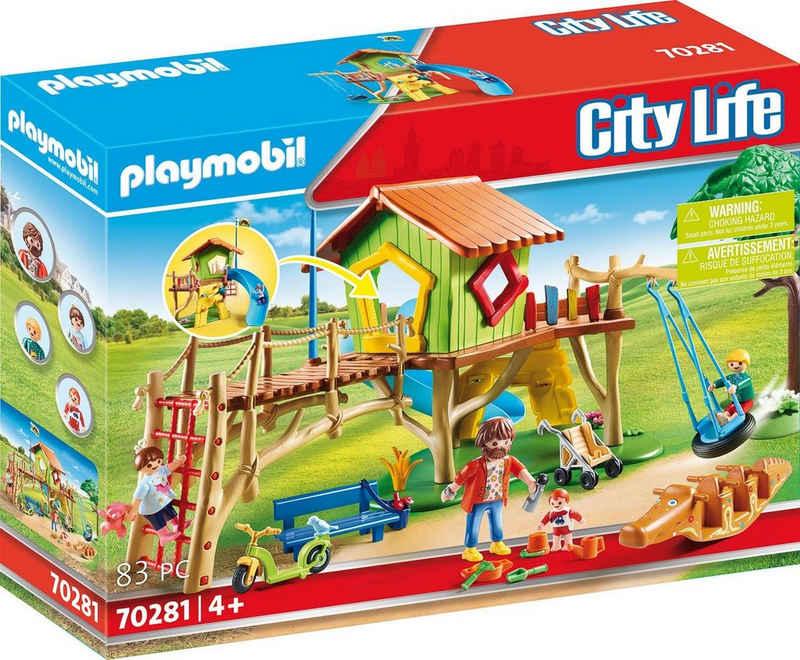 Playmobil® Konstruktions-Spielset »Abenteuerspielplatz (70281), City Life«, (83 St), Made in Germany