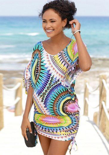 Beachtime Longshirt mit grafischem Druck