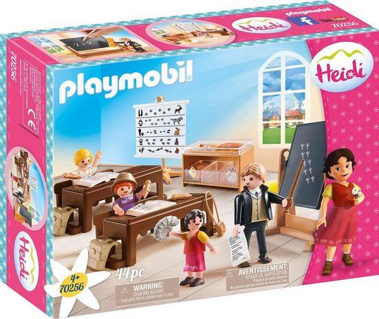 Playmobil® Konstruktions-Spielset »Schulunterricht im Dörfli (70256), Heidi«, ; Made in Germany