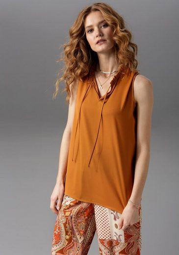 Aniston CASUAL Blusentop in uni oder bedruckt - du hast die Wahl - NEUE KOLLEKTION