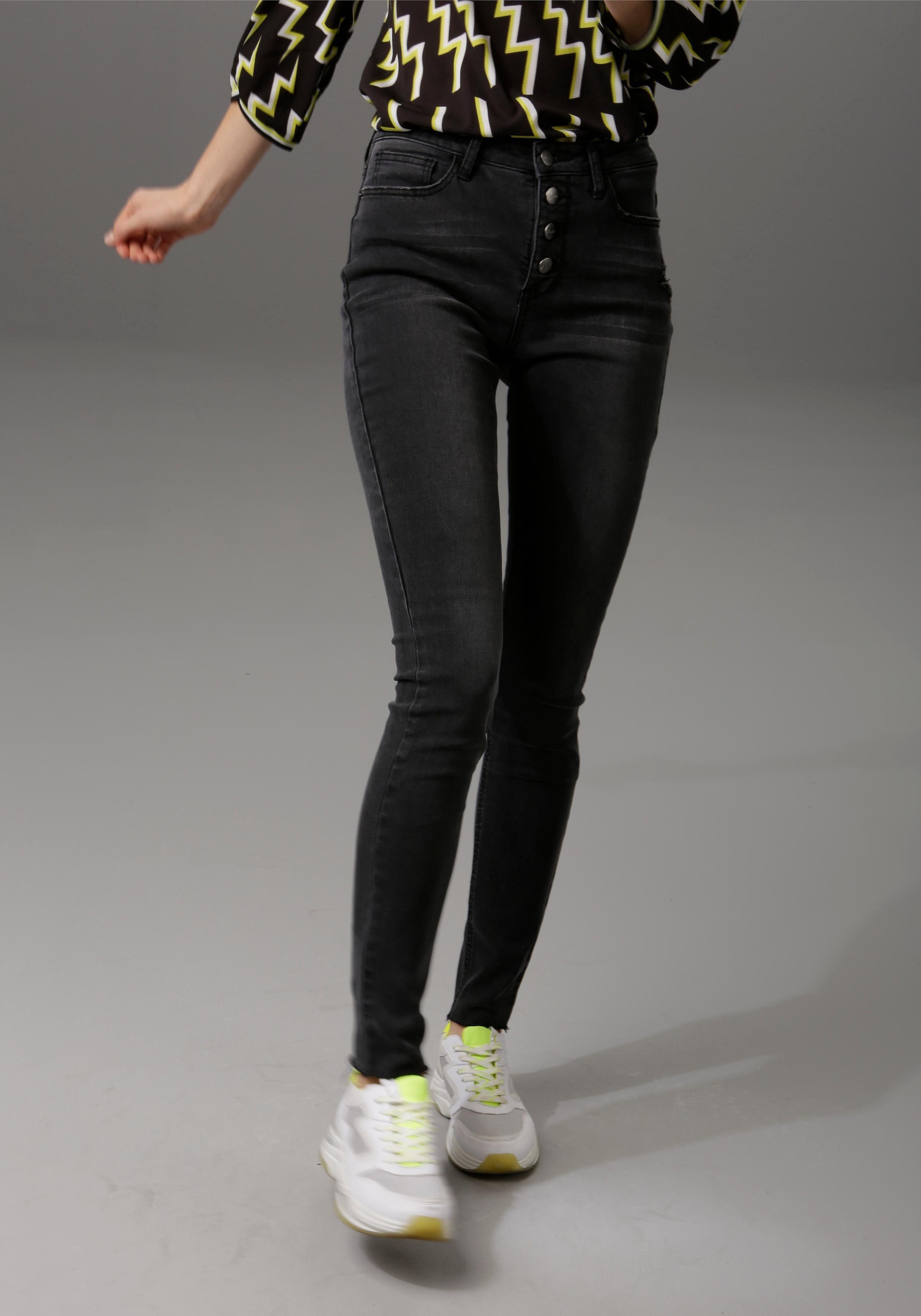 Angels Slim Fit Caprijeans in 78 Länge Jeans