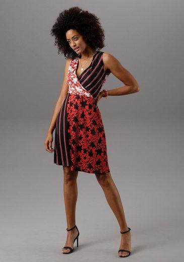 Aniston SELECTED Sommerkleid im Patch-Print