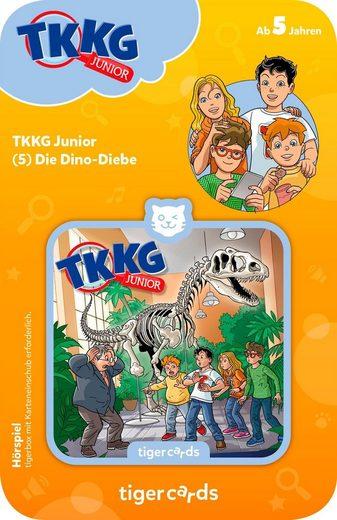 tigerbox Hörspiel »TKKG Junior - Folge 5: Dino-Diebe«