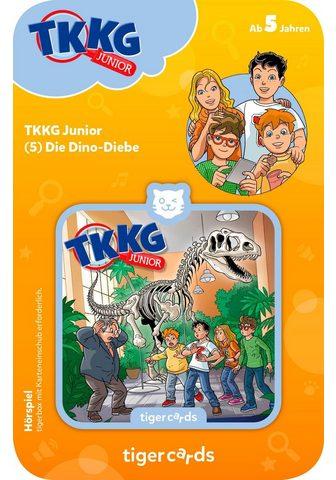 TIGERBOX Hörspiel »TKKG Junior - Folge 5: Dino-...