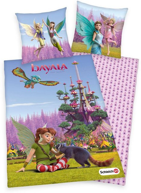 Kinderbettwäsche »Bayala - The Movie«, Schleich®, mit Feenmotiven | Kinderzimmer > Textilien für Kinder > Kinderbettwäsche | Baumwolle | Schleich®