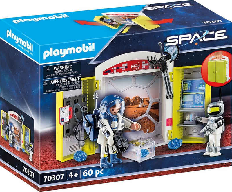 Playmobil® Konstruktions-Spielset »In der Raumstation (70307), Space«, (60 St), Made in Germany