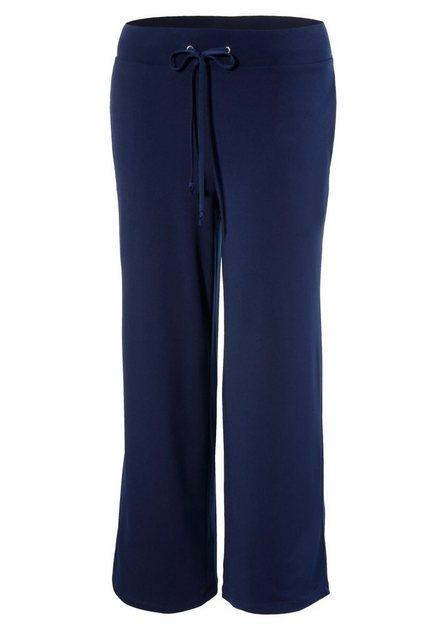 Hosen - Aniston CASUAL Culotte in unifarben oder trendig gemustert › blau  - Onlineshop OTTO