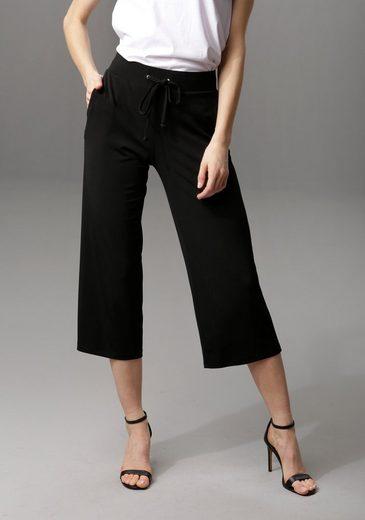 Aniston CASUAL Culotte in unifarben oder trendig gemustert