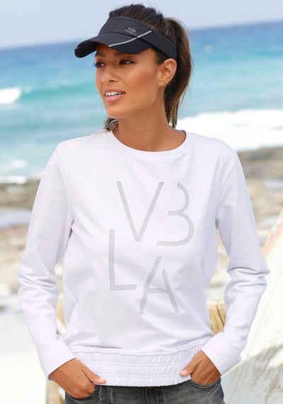 Venice Beach Sweatshirt mit breitem Bündchen