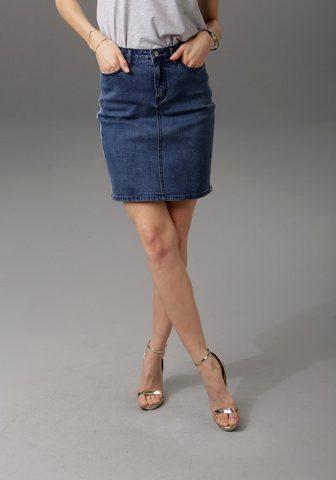 ANISTON CASUAL Džinsinis sijonas