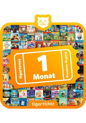 TIGERBOX Hörspiel »1 Monat tigertones Premium-Z...