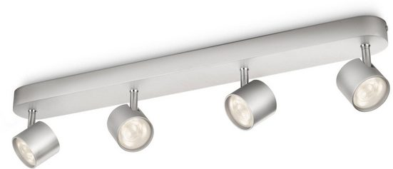 Philips LED Deckenspot »myLiving Star 2000lm, Aluminium«, 4-flammig