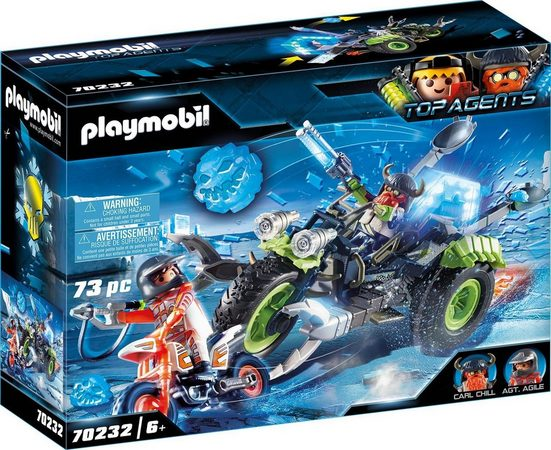 Playmobil® Konstruktions-Spielset »Arctic Rebels Eistrike (70232), Top Agents«, (73 St), ; Made in Germany