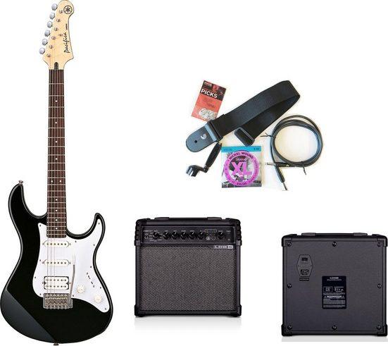 Yamaha Gitarrenset »PA012BL SPIDERV20II PACK«