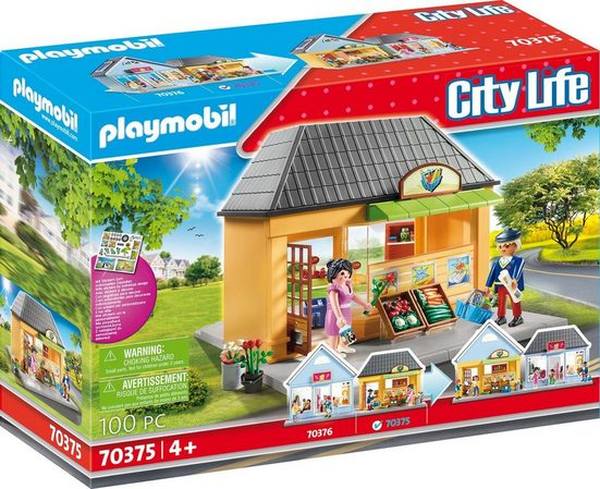 Playmobil® Konstruktions-Spielset »Mein Supermarkt (70375), City Life«, (100 St), ; Made in Germany
