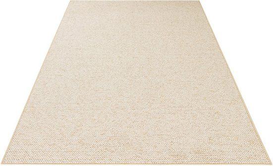 Teppich »Wolly 2«, BT Carpet, rechteckig, Höhe 12 mm, Woll-Optik, Hoch-Tief-Effekt