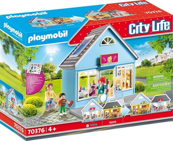Playmobil® Konstruktions-Spielset »Mein Friseursalon (70376), City Life«, (85 St), ; Made in Germany