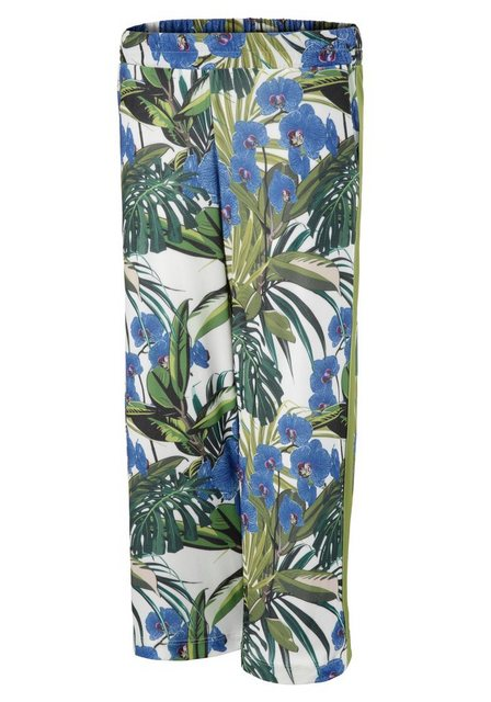 Hosen - Aniston SELECTED Culotte in modischen Prints › grün  - Onlineshop OTTO