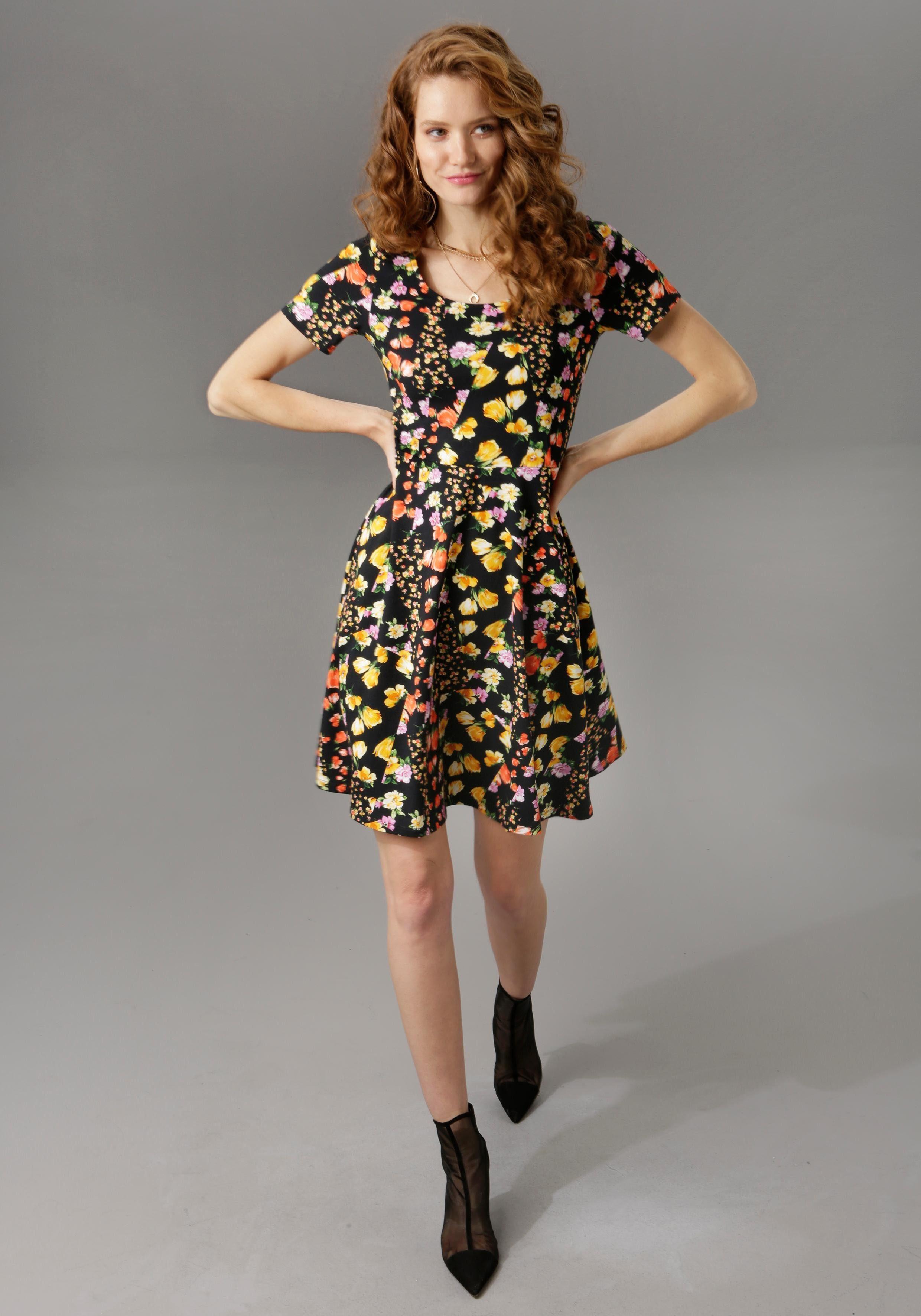 NEU!! Bedruckt CHEER Kleid KP 29,99 € /%SALE/%