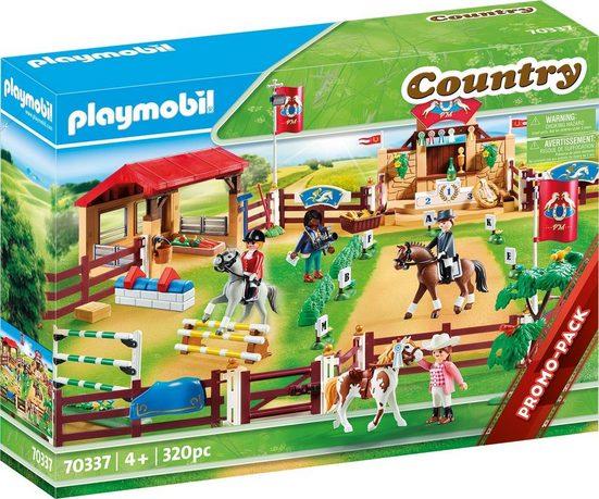 Playmobil® Konstruktions-Spielset »Großer Reitturnierplatz (70337), Country«, (320 St), ; Made in Germany