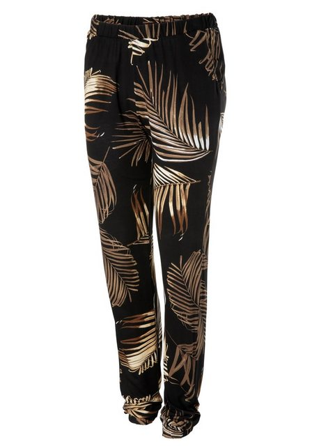 Hosen - Aniston SELECTED Schlupfhose im Allover Print › schwarz  - Onlineshop OTTO