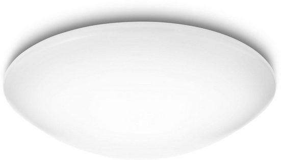Philips LED Deckenleuchte »myLiving Suede 4000K 3300lm, Weiß«