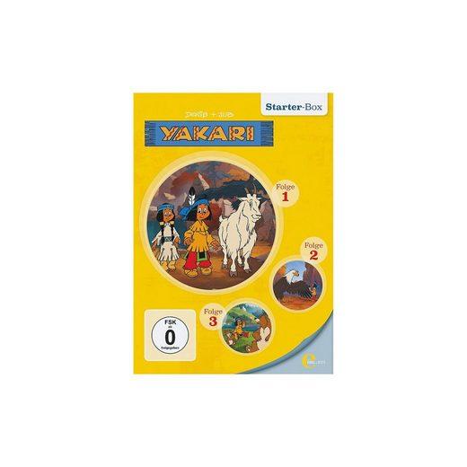 Edel DVD Yakari - Starter Box (Folge 1,2,3)