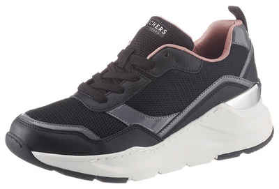 Skechers »Rovina Clean Sheen« Wedgesneaker mit Air Cooled Memory Foam