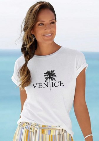 VENICE BEACH Palaidinė apvalia iškirpte