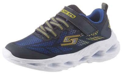Skechers Kids »Blinkschuh Sneaker Vortex-Flash« Sneaker mit Klettverschluss