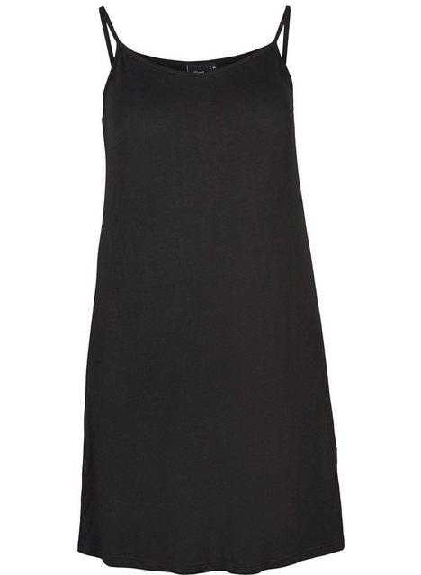 Zizzi Petticoat-Kleid Damen Spaghettiträger Top Ärmellos Basic Unterhemden Große Größen | Bekleidung > Kleider > Petticoat Kleider | Zizzi