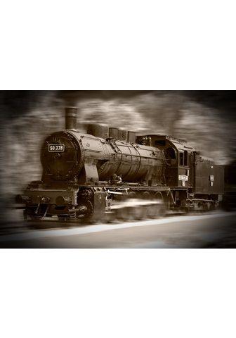 PAPERMOON fototapetas »Steam Locomotiv...