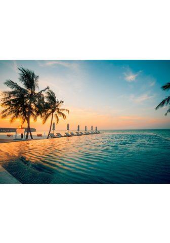 PAPERMOON fototapetas »Sunset on Maldi...