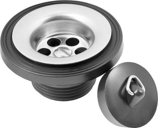 CORNAT Sanitärarmaturenzubehör »Rezyklat Waschtisch-Ablaufventil«, Ø 38,5 mm, aus recyceltem Kunststoff