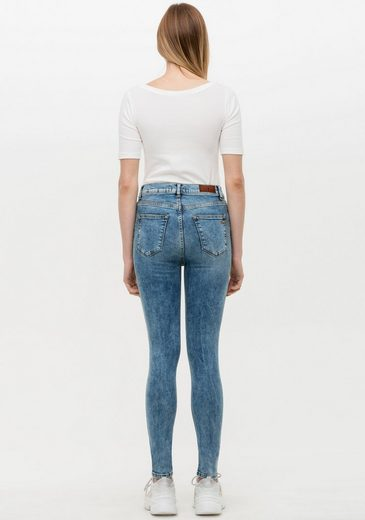 LTB High-waist-Jeans »AMY« im angesagtem Used-Look