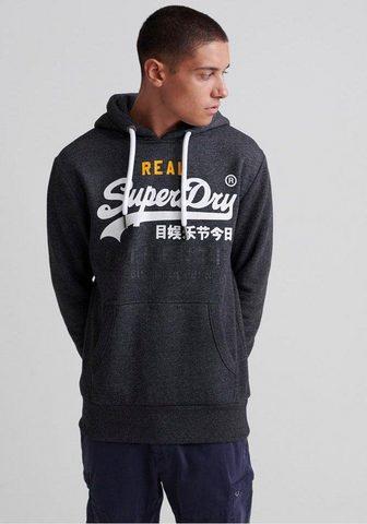 SUPERDRY Sportinis megztinis su gobtuvu