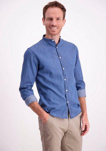 LINDBERGH Langarmhemd in Jeansoptik