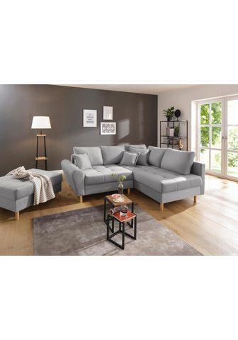 HOME AFFAIRE Kampinė sofa »Rice«