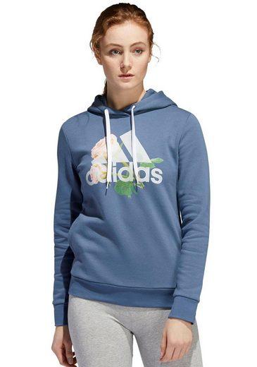adidas Performance Kapuzensweatshirt »FLORAL BC HOODY«
