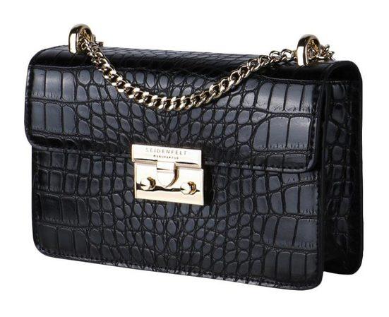 Seidenfelt Mini Bag »PITEA«, mit modischer Umhängekette