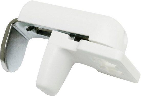 Sichtschutzbefestigung »Plissee-Klemmträger«, WOHNIDEE-Kollektion, Plissees, (4-tlg)