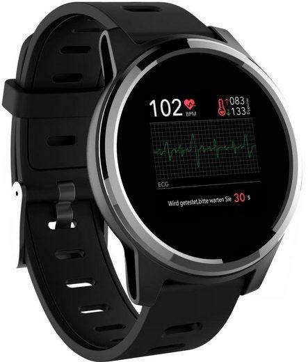 Swisstone SW 660 ECG Smartwatch (3,3 cm/1,3 Zoll)