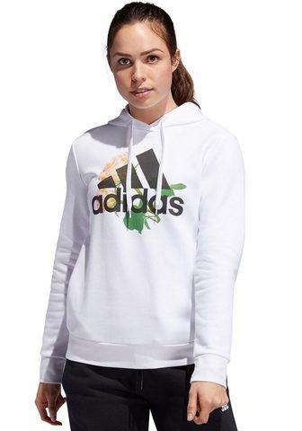 ADIDAS PERFORMANCE Sportinis megztinis su gobtuvu »FLORAL...
