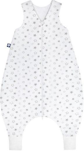 Julius Zöllner Babyschlafsack, mit Beinen Jersey Jumper Stella taupe
