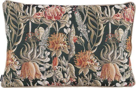 H.O.C.K. Dekokissen »Bloom Flashing«, mit Lilien und Sonnenblumen
