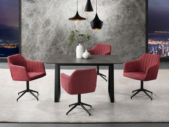 Places of Style Drehstuhl »Colorado« in modernem Design  mit Drehfunktion