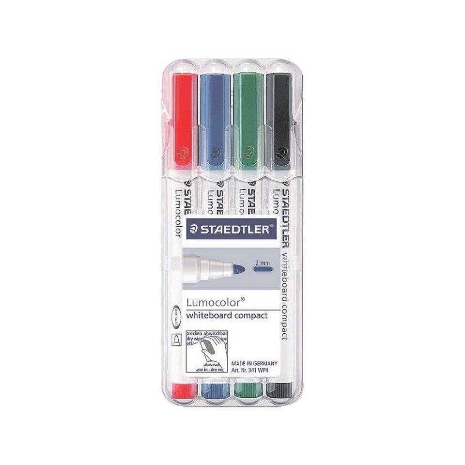 Staedtler 4er-Pack Whiteboard-Marker »Lumocolor«