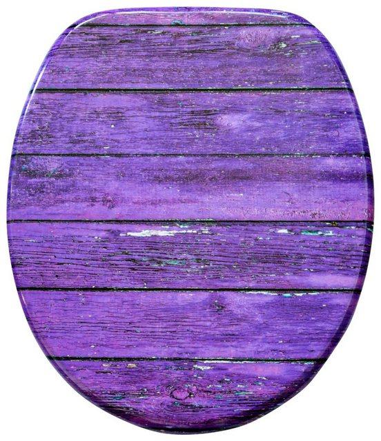 WCs und Zubehör - Sanilo WC Sitz »Purple Wall«, mit Absenkautomatik  - Onlineshop OTTO
