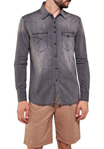 REPLAY Džinsiniai marškinėliai
