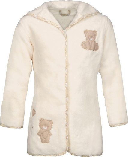 Kinderbademantel »Teddy«, Vossen, mit Kapuze